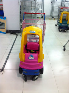 Hot Sale 1 Basket Kid Toy Car Shopping Trolley Cart pictures & photos