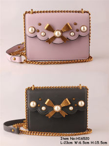 Fashion Accessories PU Lady Handbags (H16520) pictures & photos