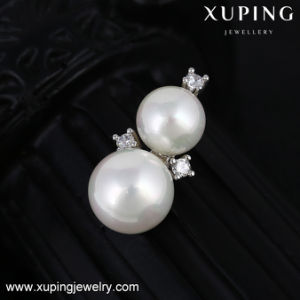 64103 Xuping Fashion Shell Pearl Jewelry Set Plated with Platinum pictures & photos