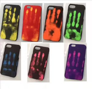Temperature Heat Sensitive Color Changing Phone Case for iPhone 7 pictures & photos