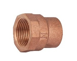 Bronze Pipe Fittings Copper Connector Female Connector pictures & photos