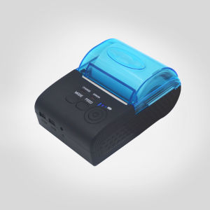 POS5805 58mm Mini POS Bluetooth Mobile Printer, Mobile Bluetooth Printer with Sdk for Android, Ios Printing