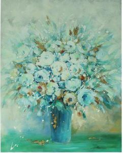 Flower Painting Wall Art Painting on Canvas for Home Decor (LH-P17042) pictures & photos