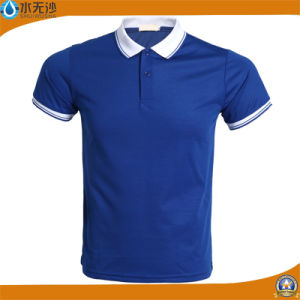 Wholesale Men Sport Wear Polo Shirt Cotton Casual T-Shirts pictures & photos