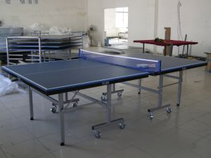 Double-Folding Table Tennis Table (TE-08) pictures & photos