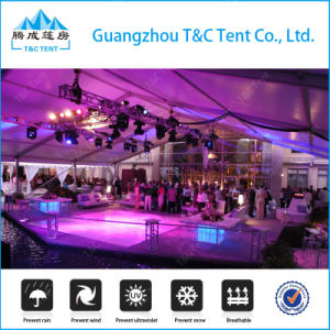 Large Classic Decorated Aluminum Sail Wedding Tent for Over 500 People pictures & photos