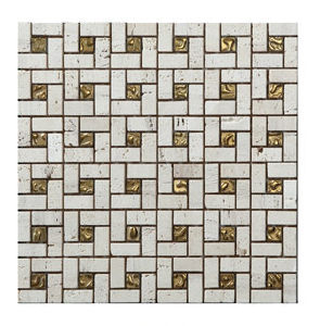 Natural Marble Mosaic Wall and Floor Tile (FYSG047) pictures & photos