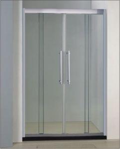 Bathroom 8mm Glass Double Sliding Door Shower Enclosure (BA940) pictures & photos