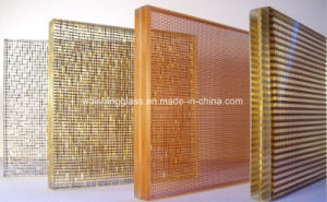 Wire Tempered Laminated Glass with Unique Style pictures & photos