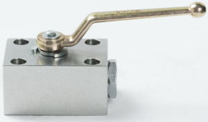3 Way Board Type Hydraulic Ball Valve pictures & photos