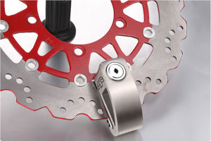 Two Eagles Motorcycle Anti-Force Opening Alarm Disc Brake Lock pictures & photos