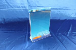 Customize Clear Acrylic Menu Stand Holder pictures & photos