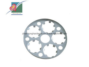 ISO 9001 Custom Sheet Metal Punched Stamped Part with High Quality (ZH-SP-057)