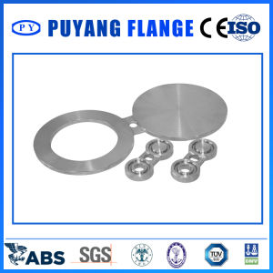 Forged Stainless Steel Spectacle Blind Paddle Blind Spacer Flange (PY0135) pictures & photos