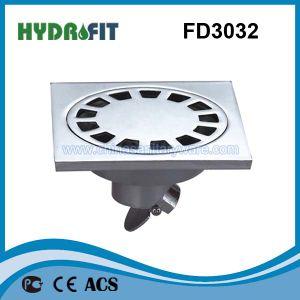 Zinc Alloy Shower Floor Drain / Floor Drainer (FD3032) pictures & photos