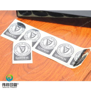 Customized Self Adhesive Paper Printing Sticker (for Bear) pictures & photos