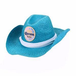 Men′s Paper Straw Cowboy Hat pictures & photos