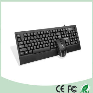Wired Computer Gaming Keyboard and Mouse Combo Set (KB-C25) pictures & photos
