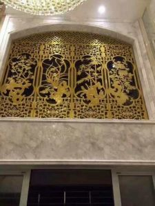 Laser Cut Panel Metal Screen for Hall Decorative Parition pictures & photos