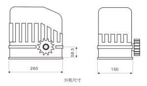 Prison Dormitory Door/Gate Motor Motorized Sliding Gates System Operator pictures & photos