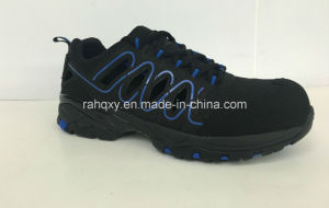 Sandal Style Cemented Safety Shoes (HQ6120502) pictures & photos