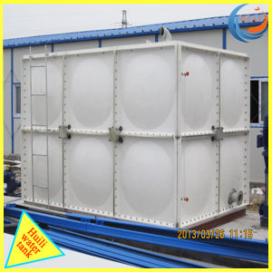 Collapsible GRP SMC FRP Water Storage Tank with ISO pictures & photos
