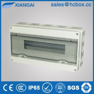 Plastic Waterproof Distribution Box Enclsoure Distribution Board IP65 Hc-Ht18ways pictures & photos