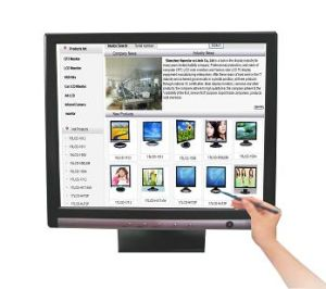 "17"" LCD Touch Monitor with Best Quality pictures & photos"