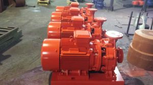 Electrical Closed-Coupling Fire Fighting Pump with CE Certificates pictures & photos
