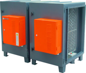 ESP (Electrostatic Precipitator) Air Cleaning System for Commercial Kitchen Cooking Fume Elimination