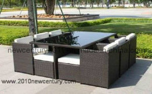 Outdoor Dinner Table and Chair (7008) pictures & photos