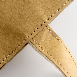 Washable Paper Bag Handbag Simple Style Reusable Kraft Shopping Bag pictures & photos
