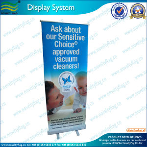 Economic Advertising Aluminum Roll up Banner for Display (M-NF22M01001) pictures & photos