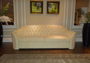Post-Design Top Grain Leather Nubuck Leather Sofa Set pictures & photos