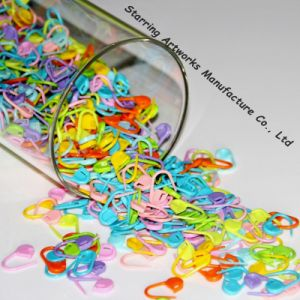 Wholesale 22mm Cute Colorful Decorative Plastic Hang Tag Safety Pins pictures & photos