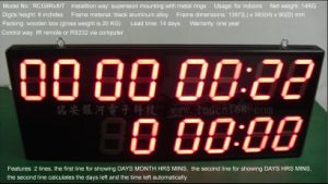 LED Display (indoor 8 inches digits LED display)