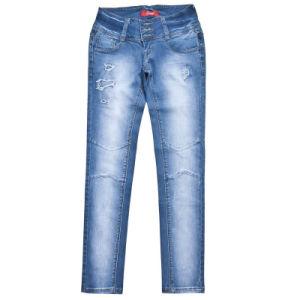 2013 Woman′s Fashion Jeans (MF-STW000)
