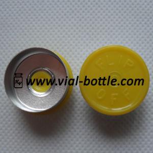 Lemon Color Flip-off Caps With Logo (HVFT016) pictures & photos