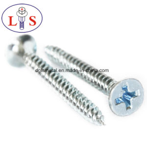 Factory Price Carbon Steel Zinc Plated Csk Head Screws pictures & photos