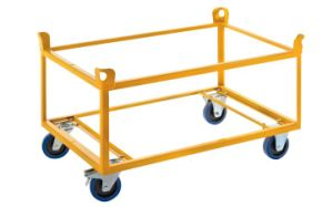 Double Tray Trailers with Four Wheels (882276)