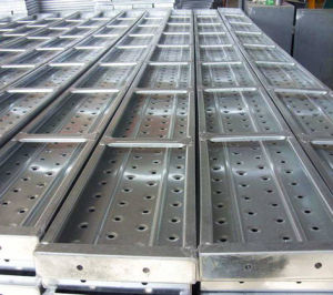 Steel Scaffolding Board China Price pictures & photos
