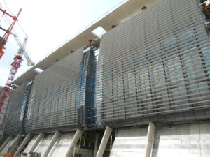 Aerofoil Solar Shading System