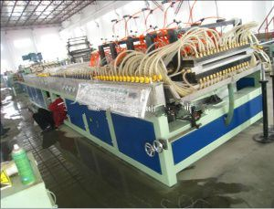 WPC Door Panel Production Line pictures & photos