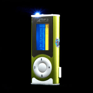 1GB OLED MP3 Player with Clip Small LED Light (AE-BR-M33)