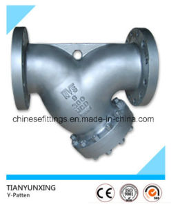 A216wcb Cast Carbon Steel Flange Y Type Strainers pictures & photos