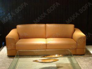Italian Leather Sofas (HD109)