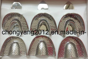 Stainless Steel Dental Metal Impression Trays pictures & photos
