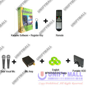 499USD PC Karaoke Pack1