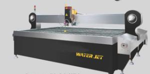 Waterjet Cutting Machine (Water Jet) for Metal, Glass, Plastic pictures & photos