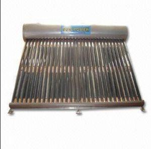 Non-Pressure Solar Water Heater (SPC Series) pictures & photos